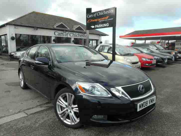 Lexus GS 450H. Lexus car from United Kingdom