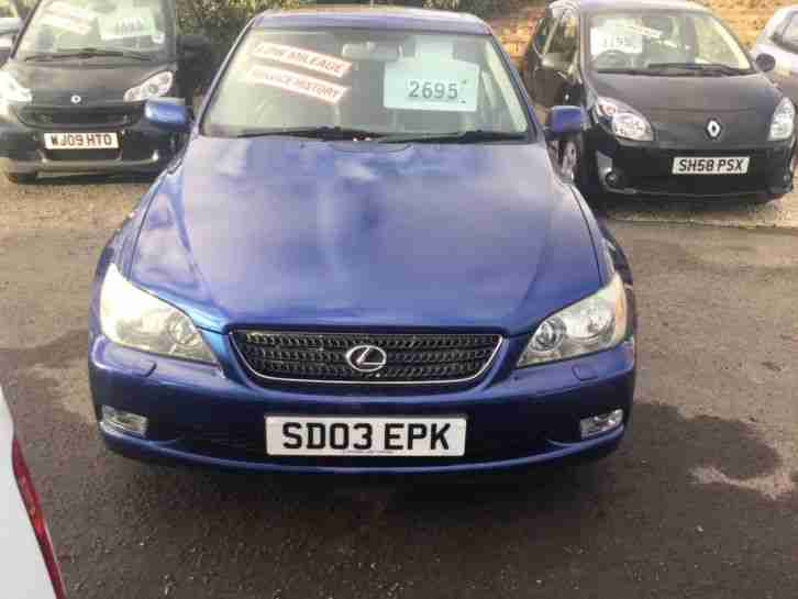 IS 200 2003 2.0 SportCross Manual