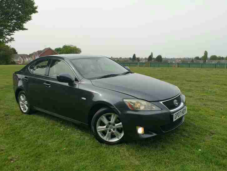 Lexus IS 220D 2.2 diesel 2007 4 door manual car 12 months mot