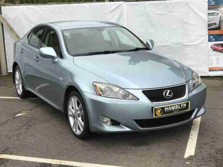 Lexus IS 220D Sport 6 Speed, Heated Alcantara Cruise, Alloys, 12 Month Mot,