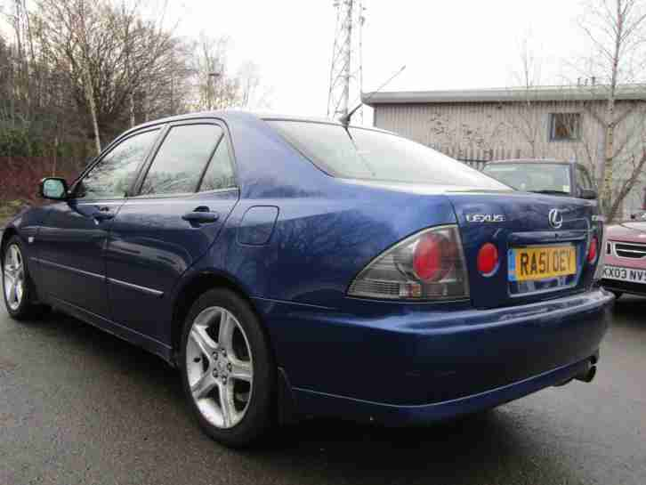 Lexus IS200 SE AUTO 1 OWNER FROM NEW 4 NEW BRIDGESTONE TYRES 3 KEYS PART HISTORY
