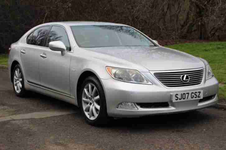 Lexus LS 460 4.6 AUTO 1 OWNER FULL LEXUS SERVICE HISTORY TOTALLY UNMARKED