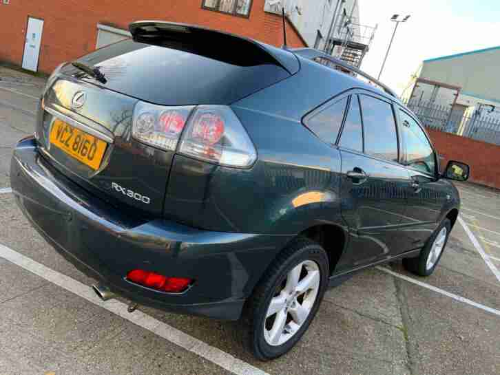 RX 300 3.0 automatic SE 2004 sunroof 6