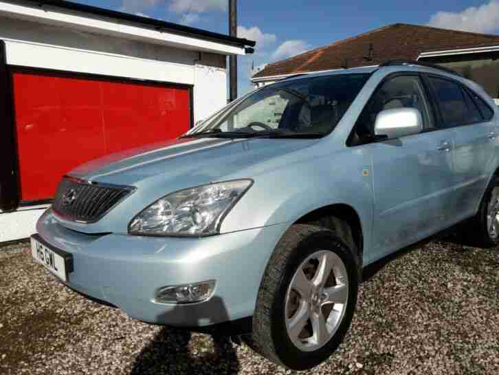 Lexus RX300 SE low 86k miles F S H Full year MOT 2 previous owners fully loaded