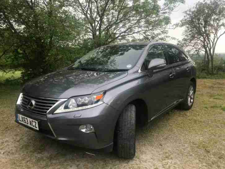 Lexus RX450h HYBRID. Lexus car from United Kingdom