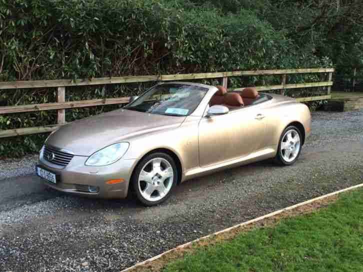 lexus sc 430 low milage 2002 car for sale. Black Bedroom Furniture Sets. Home Design Ideas