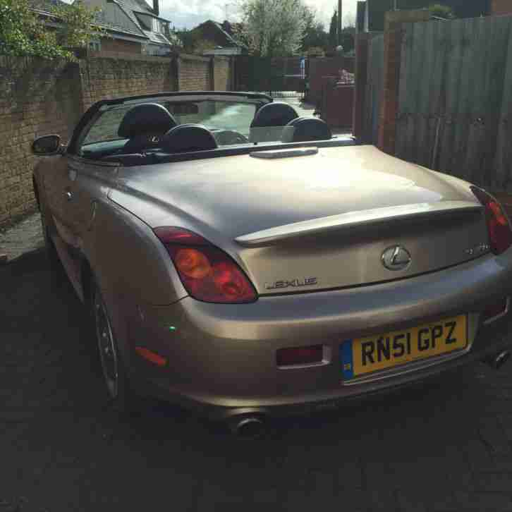 Lexus Sports Car Convertible: Lexus SC 430 Sports Convertible. Car For Sale