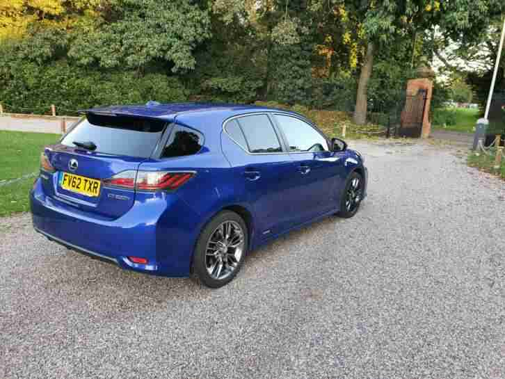 Lexus ct200 hybrid f sport excellent condition