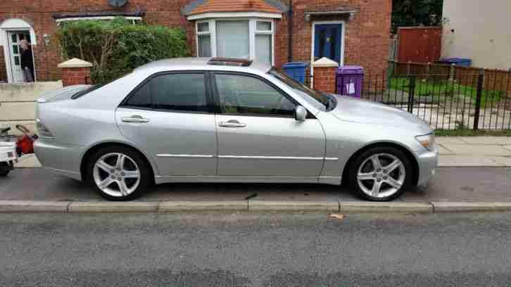 lexus is200, 2002, petrol, manual, silver. car for sale