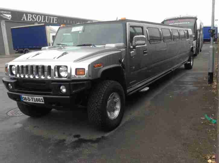 Limo 2008 Hummer H2 Empire built stretch limousine