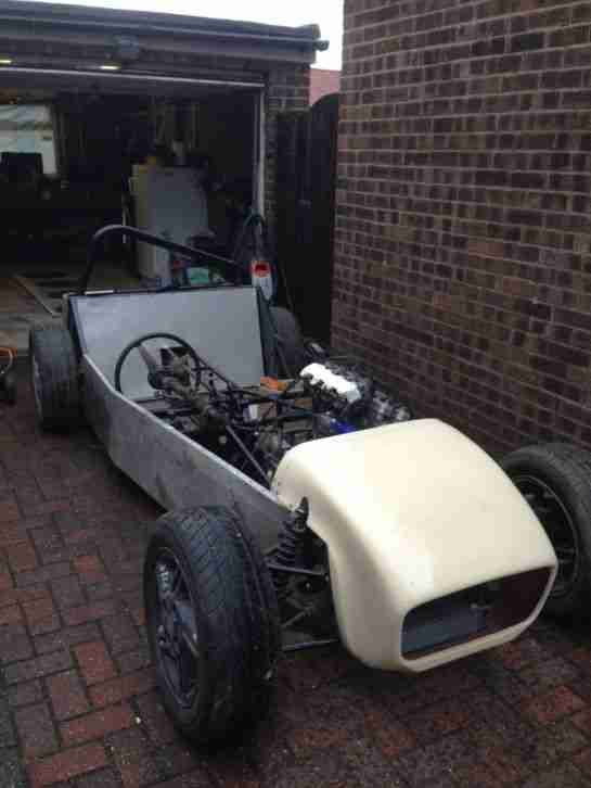 Locost bike engined kit car R1 like caterham robin hood unfinished project