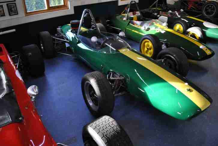 Lotus 51b Formula Ford 1968 Classic Race Car