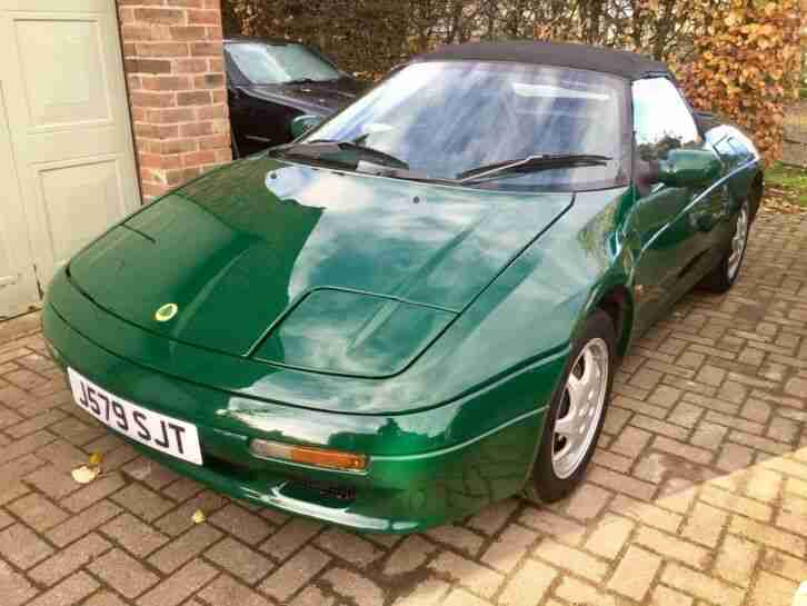 Lotus Elan SE Turbo M100 re advertised ready for lock down ending!