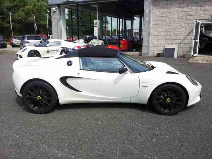 lotus elise 1 6 club racer 20 800 miles car for sale. Black Bedroom Furniture Sets. Home Design Ideas