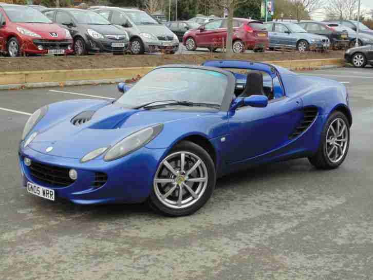 Lotus Elise 1.8. Lotus car from United Kingdom