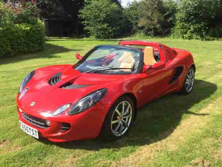 "Elise 111r, 2005 ""55"", Red Tan, only"