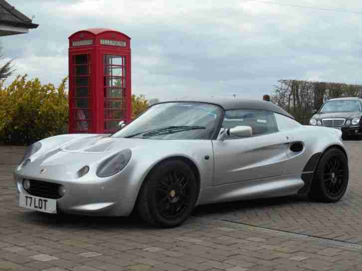 Lotus Elise 1999. Lotus car from United Kingdom
