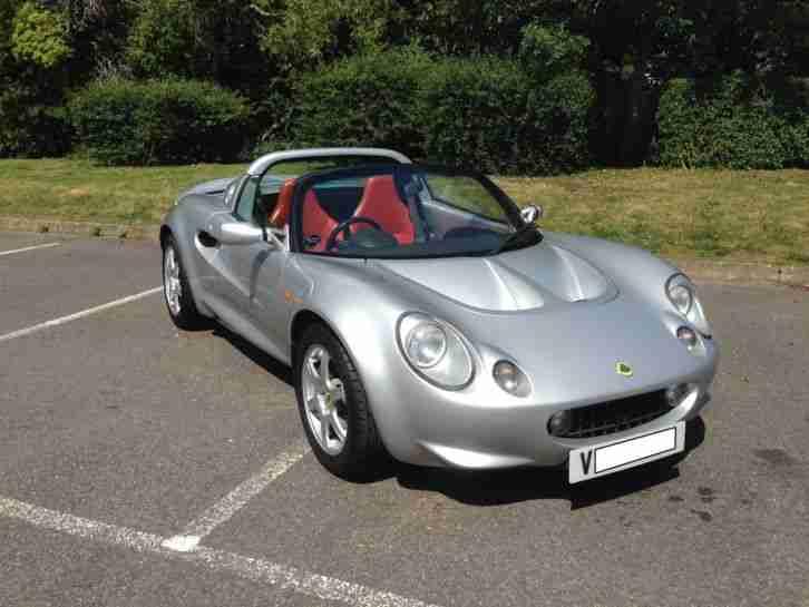 lotus elise s1 111s car for sale. Black Bedroom Furniture Sets. Home Design Ideas