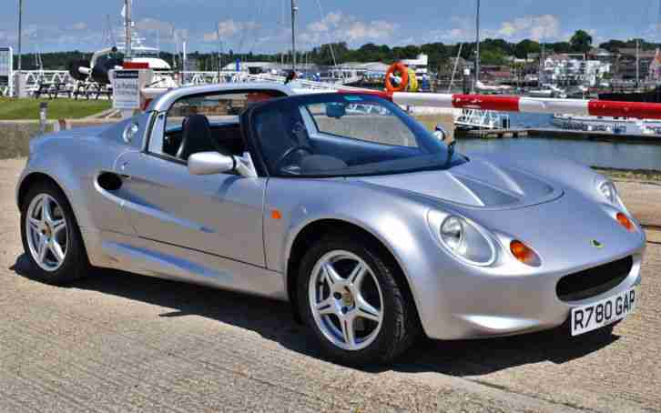 Lotus Elise S1. Lotus car from United Kingdom