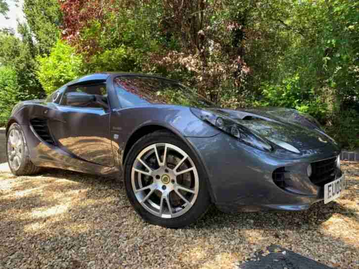 Lotus Elise Supercharged. Lotus car from United Kingdom