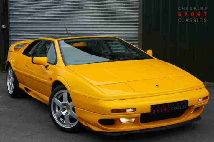 Lotus Esprit 3.5. Lotus car from United Kingdom