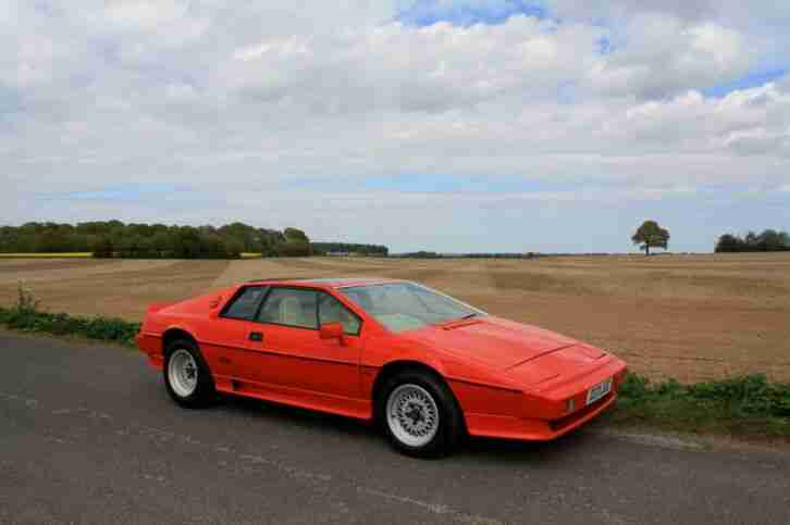 Lotus Esprit Purchasing Services. Any Model, Age, Mileage, Condition.