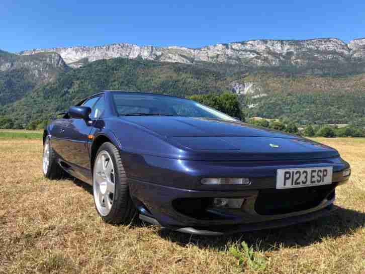 Lotus Esprit V8 1996 LHD left hand drive very low KMS immaculate in France