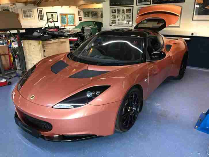 Evora 414E Electric Car Range