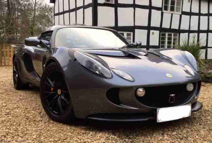 Lotus Exige 16v. Lotus car from United Kingdom