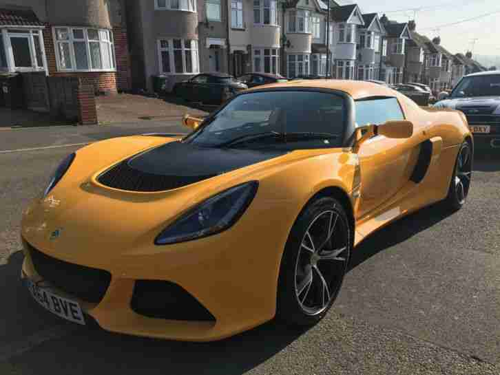 Lotus Exige S. Lotus car from United Kingdom