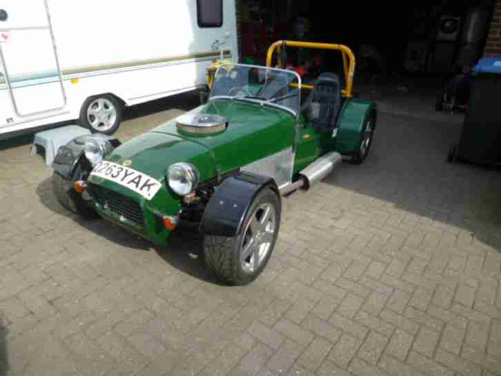 Lotus Locost 7 v8 kit car not Caterham or Westfield