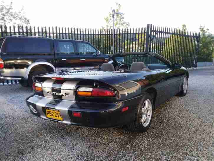 Lovely Chevrolet Camaro Convertible Only 60000 miles Classic Insurance