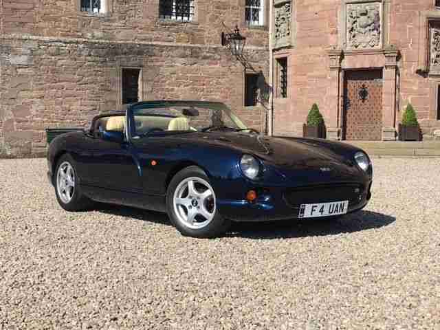 M362JPR. TVR car from United Kingdom