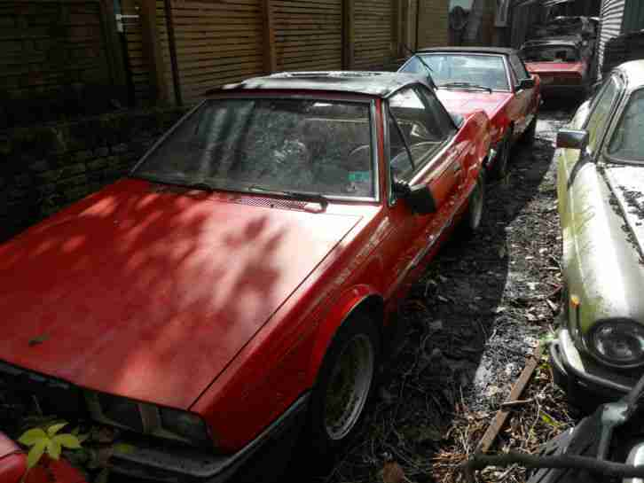 MASERATI 1986 SPIDER FOR SALE RESTORATION PROJECT