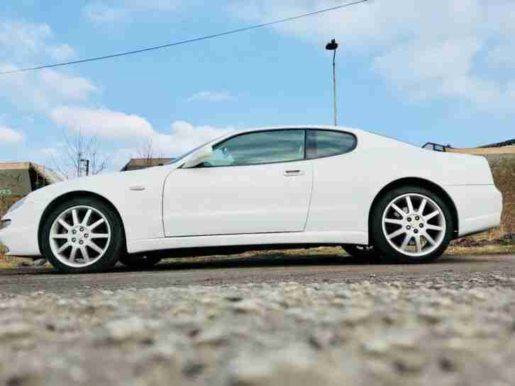 MASERATI 3200 GT WHITE V8 Turbo Ferrari Engine AUTOMATIC CLASSIC CAR AUCTION