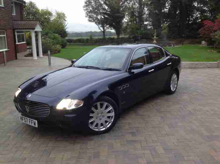 MASERATI QUATTROPORTE Powerful V8 4dr Automatic LUXURY 4Dr SUPERCAR (£78K NEW)