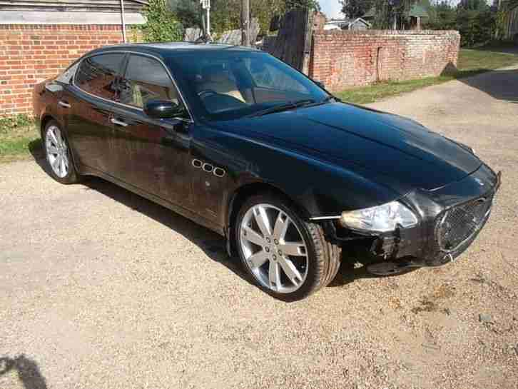 MASERATI QUATTROPORTE SPORT GT EXECUTIVE 57REG MINOR DAMAGED REPAIRABLE SALVAGE