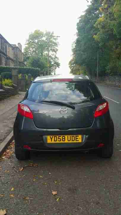 mazda 2 ts 1 3 grey low mileage very cheap light damage salvage easy. Black Bedroom Furniture Sets. Home Design Ideas
