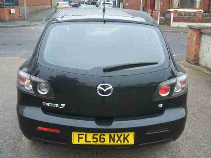 MAZDA 3 1.6 D TS 5 DOOR HATCHBACK DIESEL MANUAL BLACK