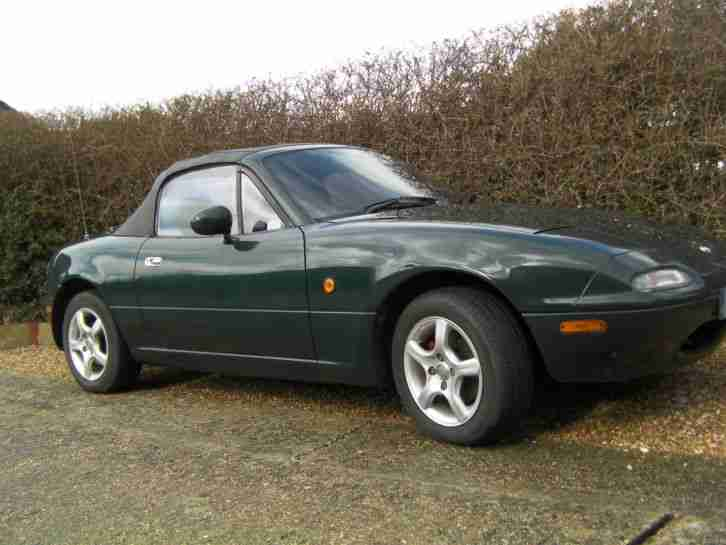 MX5 1997 DARK GREEN 1.8 LITRE MANUAL
