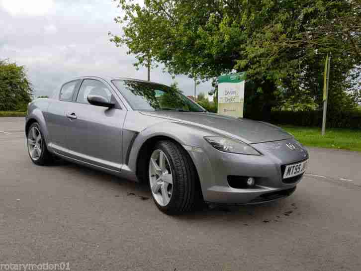 Mazda RX 8 2004 GREY NEW REBUILT ENGINE LOW Rate TAX. Specifications ...