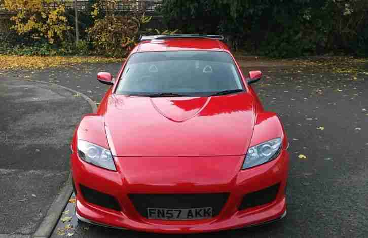 MAZDA RX8 231, Leather seats, 51000 miles
