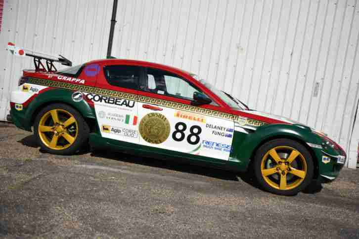 Mazda Rx8 Gt3 Daytona Race Car Track Car Car For Sale
