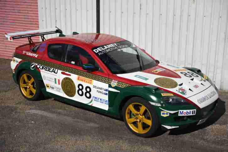 2005 Rx8 Koni Challenge Race Car For Sale: Mazda RX8 GT3 DAYTONA RACE CAR TRACK CAR. Car For Sale