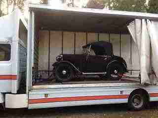 MERCEDES 814 Fully Enclosed Race Car Rally Car Transporter Part Exchange Swap