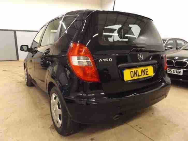 MERCEDES A CLASS A160 CDI BLUEEFFICIENCY CLASSIC SE, Black, Manual, Diesel, 2010