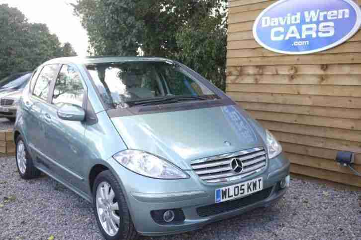 MERCEDES A CLASS A200 CDI ELEGANCE SE 2005 Diesel Manual in Blue