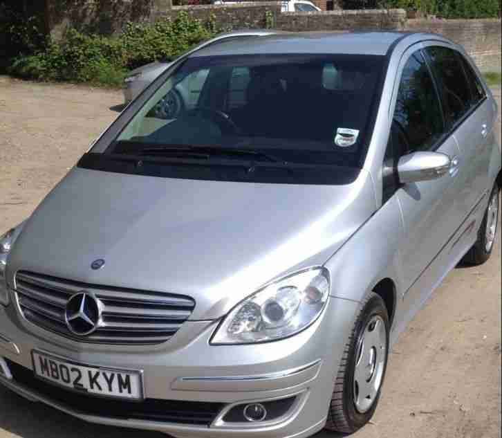 MERCEDES B180 CDI SE SILVER LONG MOT & TAX