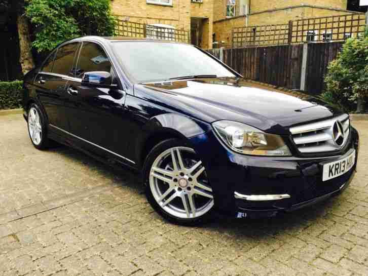 mercedes benz c250 amg sport cdi blueef 2013 auto high spec low car for sale. Black Bedroom Furniture Sets. Home Design Ideas