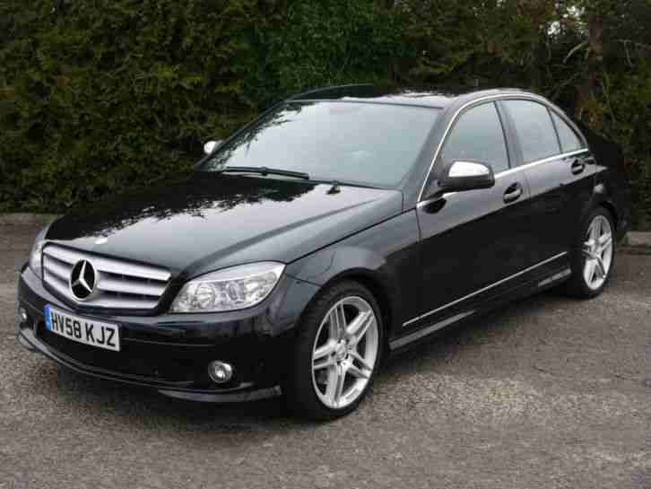 mercedes benz c320 3 0td 7g tronic cdi sport c class 220bhp merc run. Black Bedroom Furniture Sets. Home Design Ideas